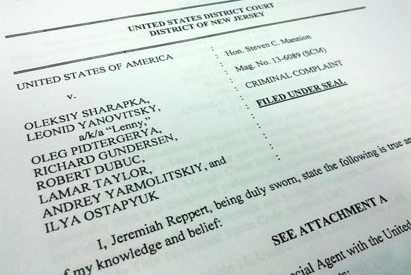 Federal complaint