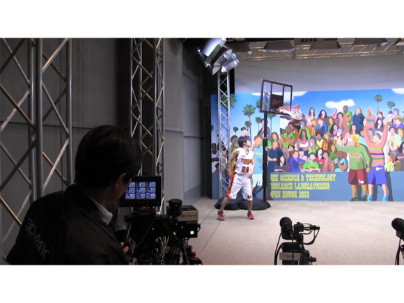 NHK camera array