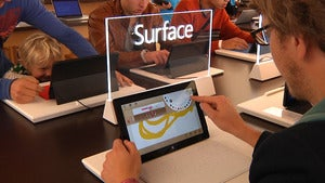 Microsoft Surface in Palo Alto