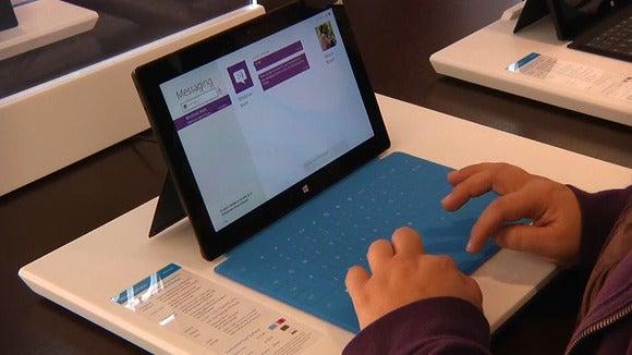 Microsoft Surface in Palo Alto