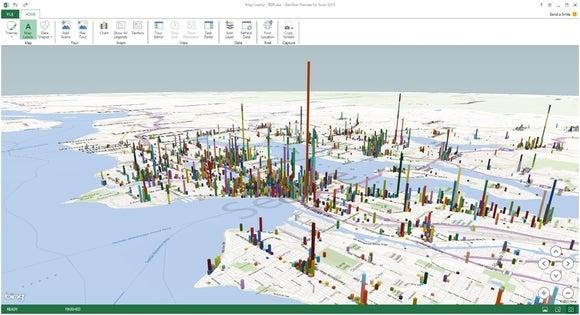 Microsoft Power Map