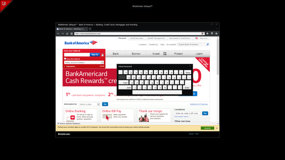 Bitdefender Safepay browser