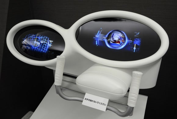 Mitsubishi projection dashboard (1)