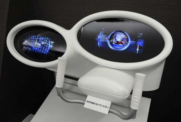 Mitsubishi projection dashboard (1)
