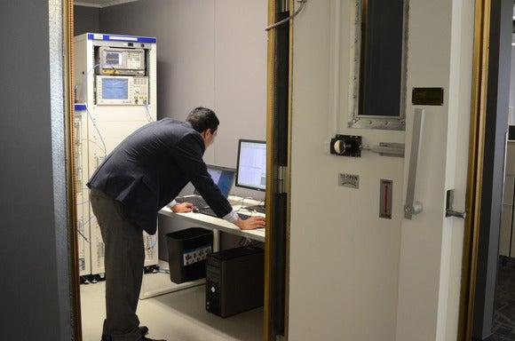 Verizon lab room