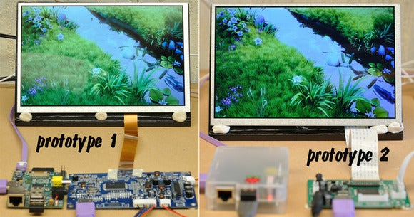Prototype HDMIPi LCD monitor kit