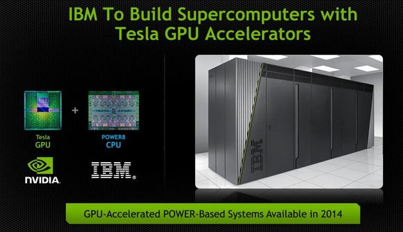 IBM's Power8 chip and Nvidia's Tesla GPU join forces