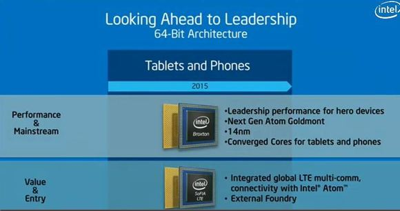 Intel's new Atom chip code-named Broxton, slide-shot