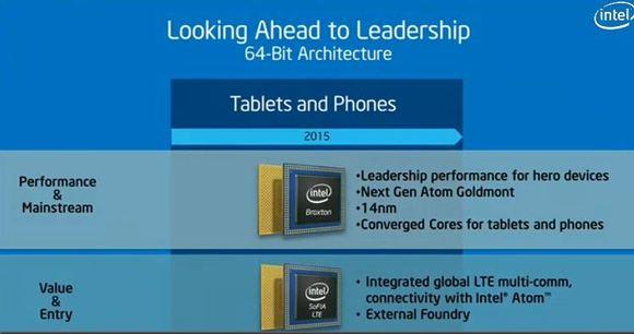 Intel's new Atom chip code-named Broxton, slide-shot