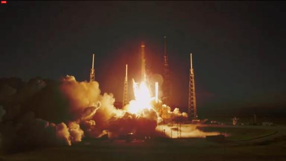 Space X Falcon 9 launch