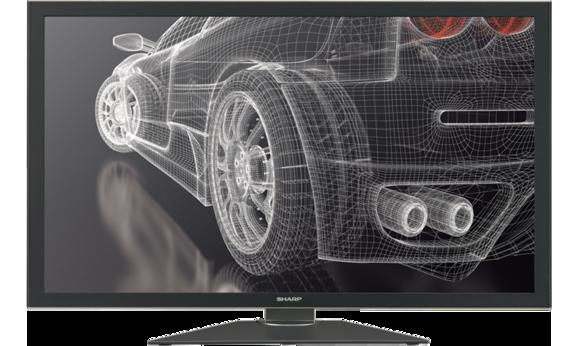 Sharp's PN-K321 4K Ultra HD LED