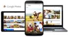 Three devices running Google Photos