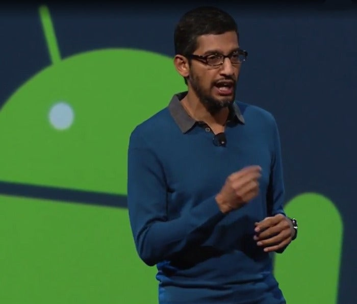 Google reports strong profit, says it's 'rethinking everything' around machine learning