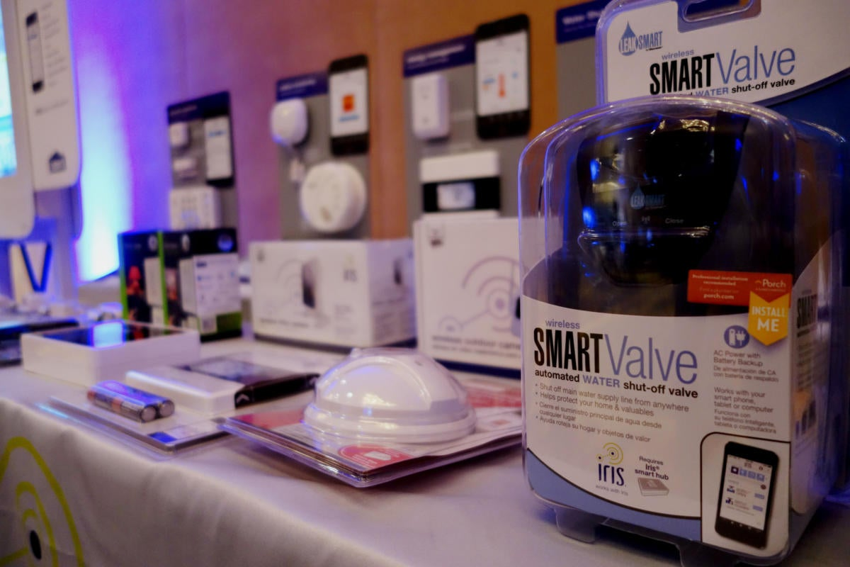 Home IoT products at Connections