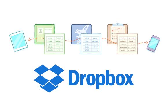 Dropbox Datastorage