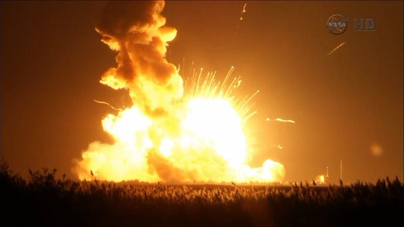 Antares explosion