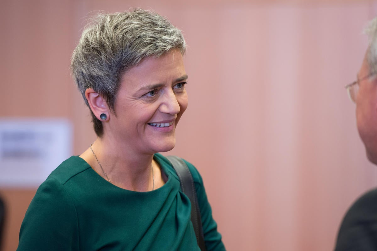 Margrethe Vestager, Commssioner for Competition