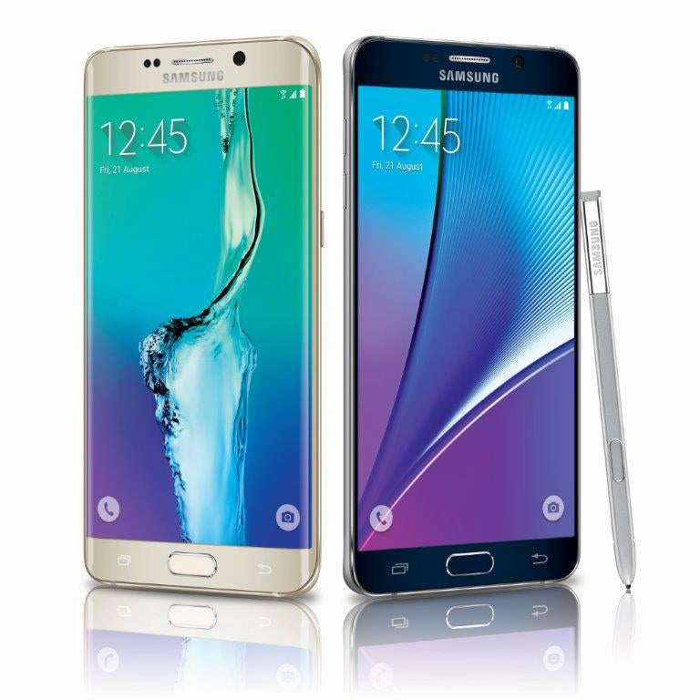 The Samsung Galaxy S6 edge+